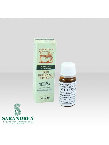 Olio Essenziale di Melissa (olio ricostituito)